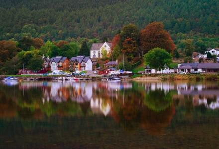 Осень в Шотландии