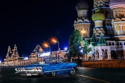 Ночь на красной площади