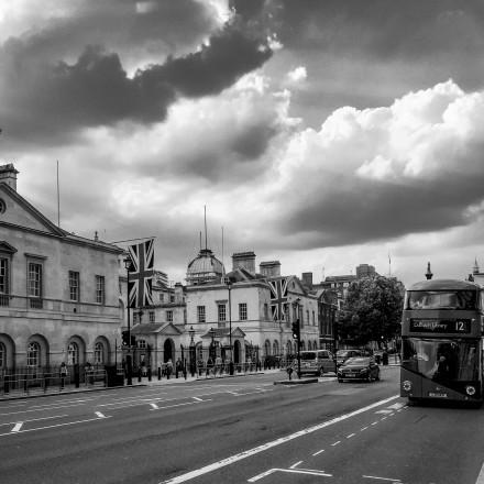 Автобус в Лондоне