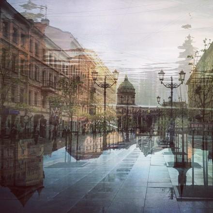 Смешение стилей Прага&СПБ