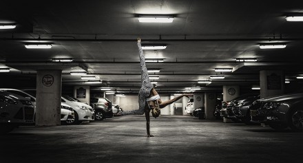Танец в гараже