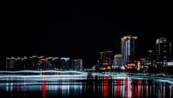 Ночной залив